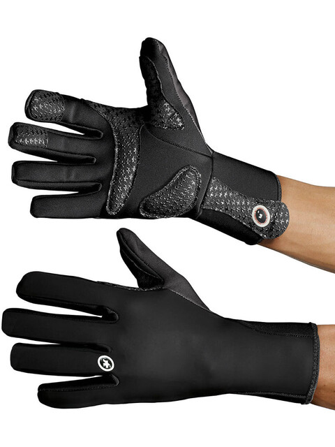 assos earlyWinterGloves_S7 Unisex blackVolkanga